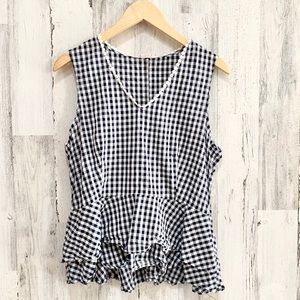 Nanette Lepore Gingham Top